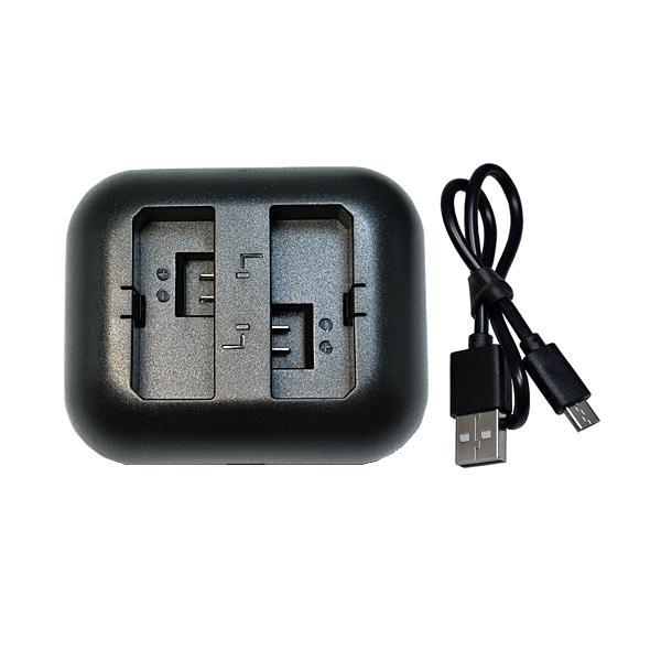 充電器(USB 2個同時充電 タイプ) キャノン(Canon) LP-E5 対応|hori888
