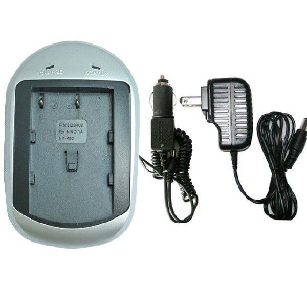 充電器 (AC) コニカミノルタ(KONICA MINOLTA) NP-400 対応