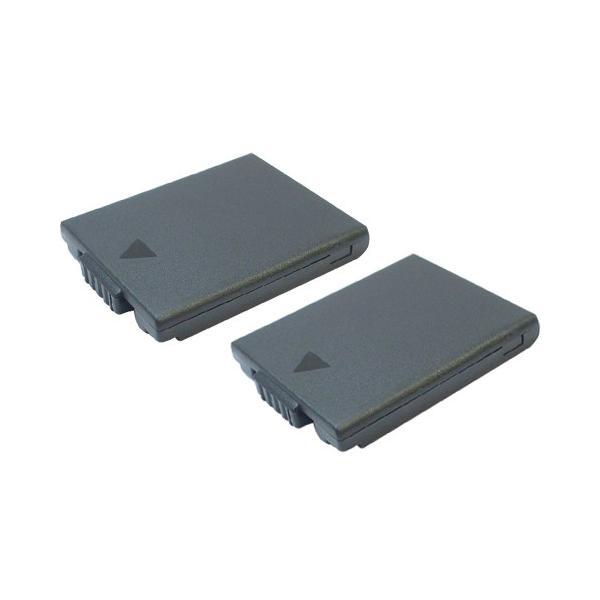 2個セット パナソニック(Panasonic) DMW-BCA7 互換バッテリー