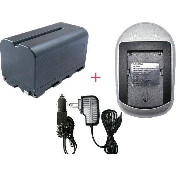 充電器セット ソニー(SONY) NP-F710 / NP-F730 / NP-F750 互換バッテリー+充電器(AC)