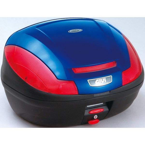 セール特価GIVIジビリアボックスバイク用ボックスモノロックケースE470B529Dブルー(青)68055