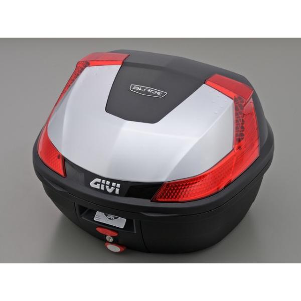 セール特価GIVIジビリアボックスバイク用ボックスモノロックケースB37G730シルバー(銀)78035