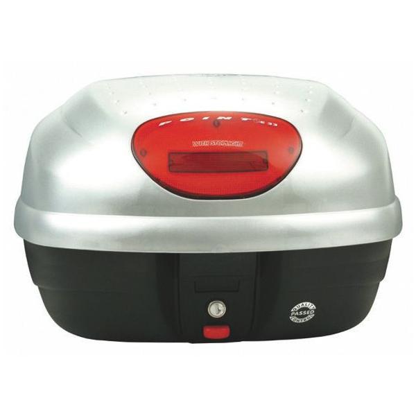 送料無料 GIVI ジビ リアボックス バイク用 ボックス モノロックケース E33EG730 シルバー(銀) ストップランプ無し 68038