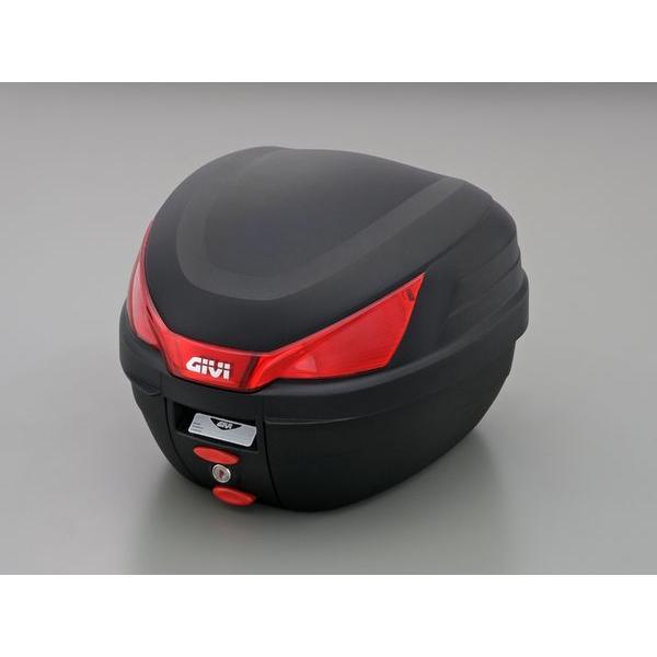 GIVIジビリアボックスバイク用ボックスモノロックケースモノロックケースB27N未塗装ブラック(黒)27Lストップランプ無し78