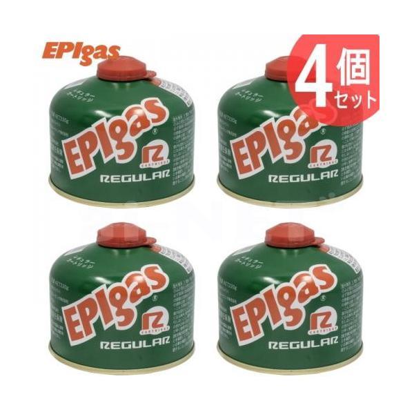 EPIgas 230レギュラーカートリッジ 4個セット(高性能標準タイプガス