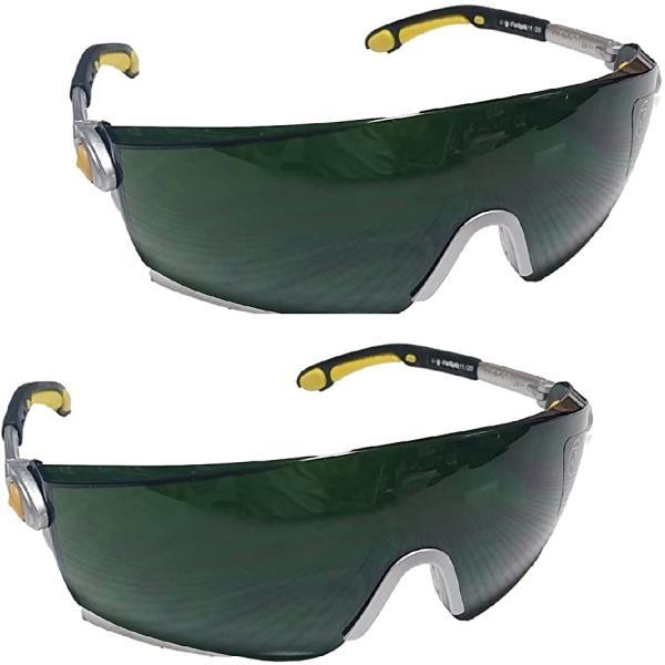 ジック 溶接 保護メガネ 溶接メガネ ゴーグル 保護めがね 溶接眼鏡 軽量素材 溶接保護メガネ(2個セット)
