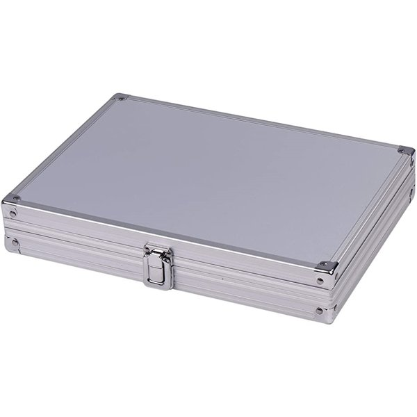 アタッシュケース カード8枚収納 PSAローダー 対応 シルバー,(シルバー, PSAローダー対応)