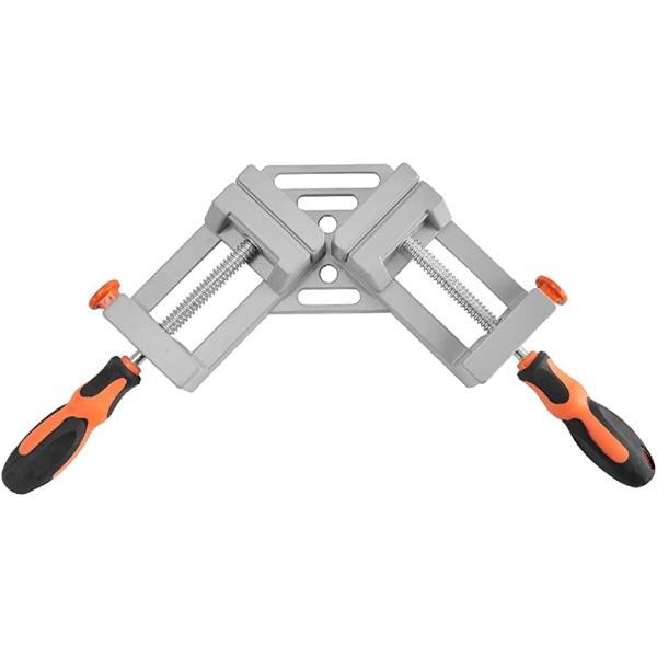 直角 定規 コーナークランプ 90度 直角クランプ diy 固定 調整可能 木工定規 工具 Aタイプ 1個(Aタイプ(1個))