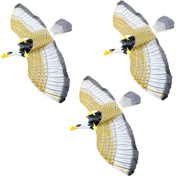 動く 鳥よけ グッズ 3個入 カラス 近寄ら ず からすよけ はとよけ 鳩よけ カラス対策 鳥対策 ベランダ とりよけ(3個セット)