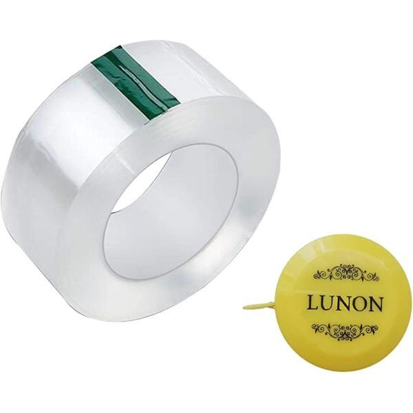 透明 補修 テープ 50mmx3m メジャー付 防水テープ 水漏れ 水回り 汚れ防止 強粘着(透明)