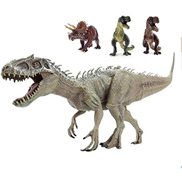 恐竜フィギュアリアル模型ジュラ紀30cm級爬虫類迫力肉食子供玩具インドミナスレックス