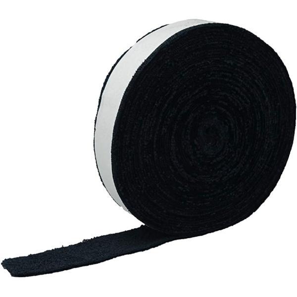 ルミエール・エタンセル タオルグリップ グリップテープ テニス バドミントン ラケット 手汗 吸収 滑り止め(ブラック)