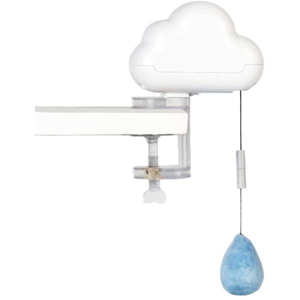 猫じゃらし 電動 猫おもちゃ 釣り竿 自動猫じゃらし 電動猫おもちゃ 猫玩具 ペット 自動停止 MDM(雨雲)