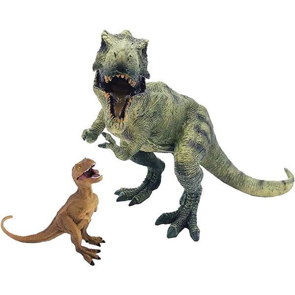 ティラノサウルス2点セット恐竜フィギュア子供怪獣おもちゃ