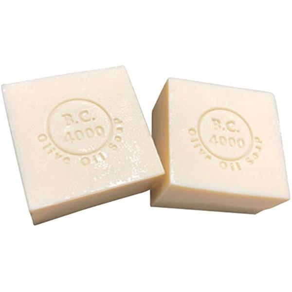 100% バージンオリーブオイル石鹸 オーガニック せっけん 100g 2個入 MDM(ネット無し, 100g x 2個)