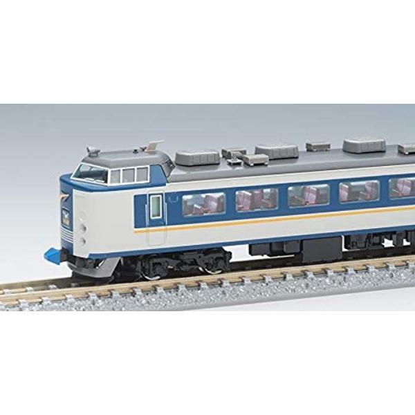 TOMIX Nゲージ 485系 特急電車 しらさぎ ・ 新塗装 セットB 7両 98651 鉄道模型 電車5