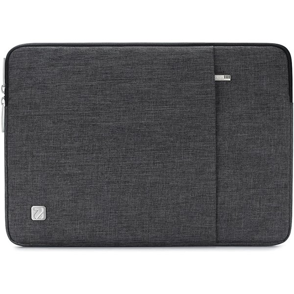 10-10.1インチラップトップスリーブ撥水タブレットケースLenovoIdeapad(ダークグレー,10.1インチ)