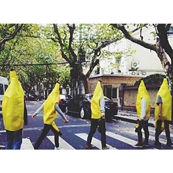 バナナ 着ぐるみ コスプレ 大人用 おもしろコスチューム M-Lサイズ(黄L)|horikku|03