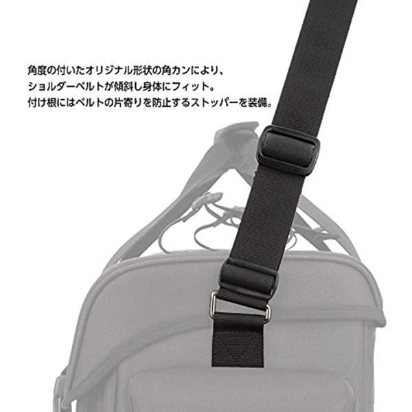 HAKUBA カメラバッグ ルフトデザイン リッジ 02 ショルダーバッグ[SLD-RG2-SBLCGY](カモフラージュグレー, L)|horikku|06