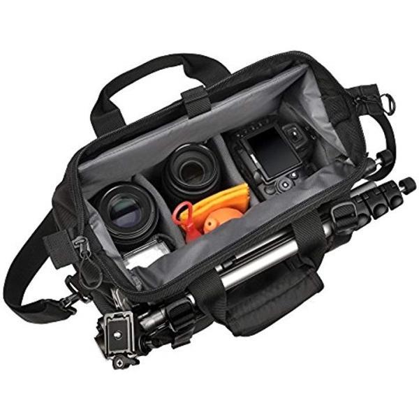 HAKUBA カメラバッグ ルフトデザイン スウィフト02 ショルダーバッグ 7.9L[SLD-SW02-SBMBK](ブラック, M)|horikku|06