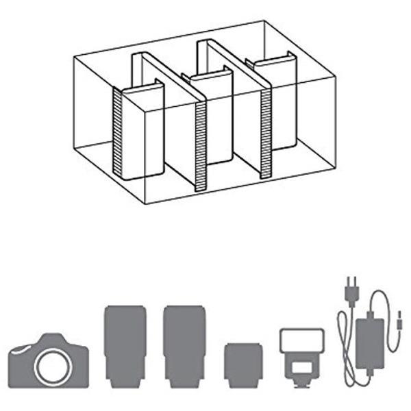 HAKUBA カメラバッグ ルフトデザイン スウィフト02 ショルダーバッグ 7.9L[SLD-SW02-SBMBK](ブラック, M)|horikku|08