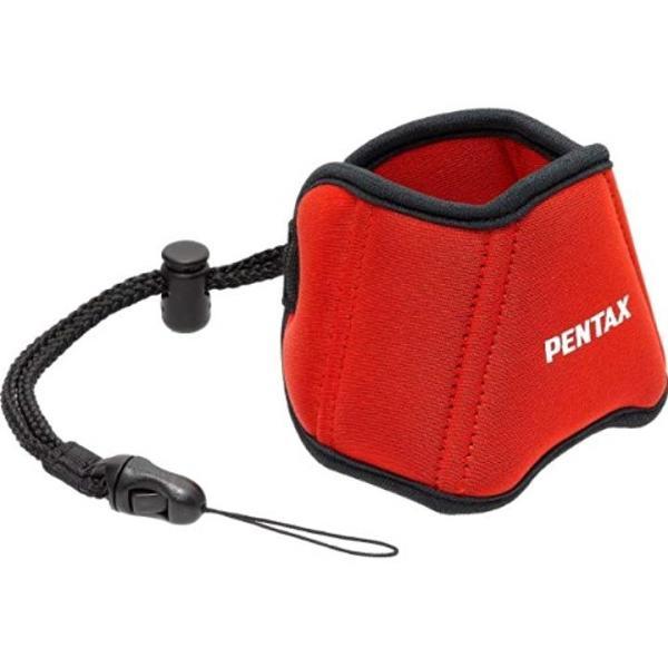 PENTAX フロートストラップ 防水デジカメ用 38854[O-ST1352](レッド)