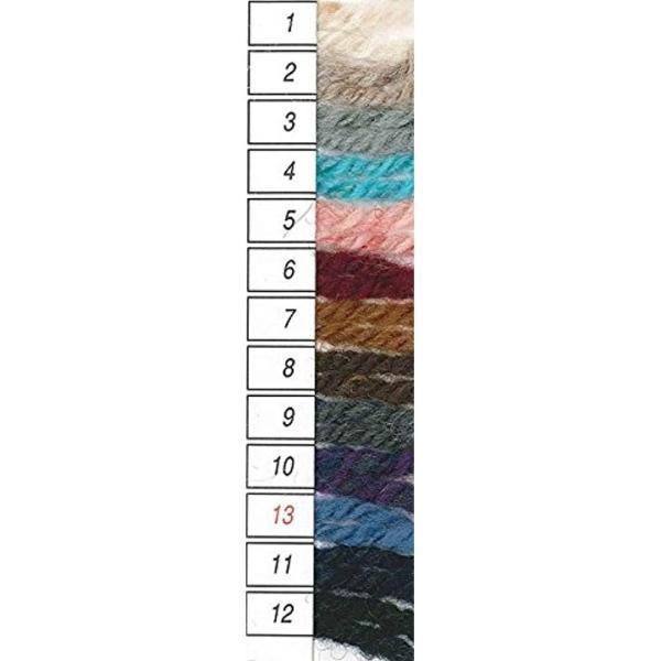 アランツィード 毛糸 並太 グレー 系 40g 約82m[2147](Col.3)|horikku|03