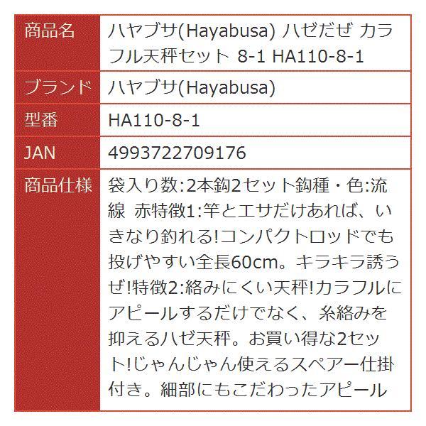 ハゼだぜ カラフル天秤セット 8-1[HA110-8-1](8号)