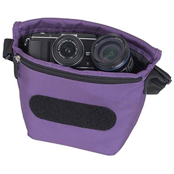カメラバッグ ベリー 2.7L[E-3395](パープル)