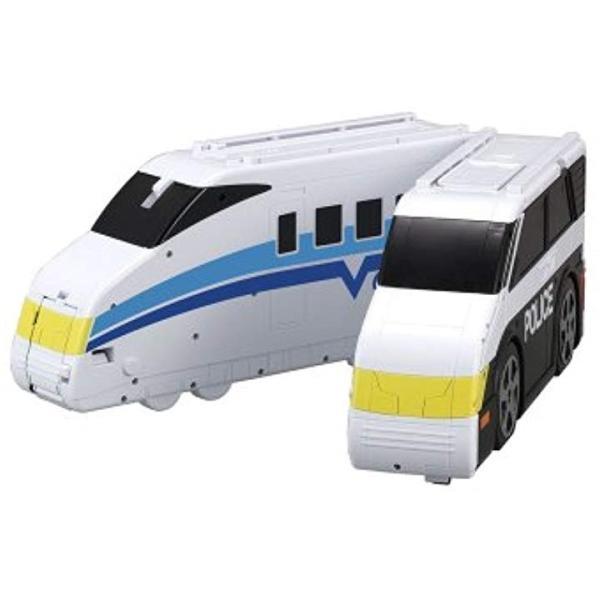 VooV ブーブ VB01 超BIG変身..パトカー〜トレイン3