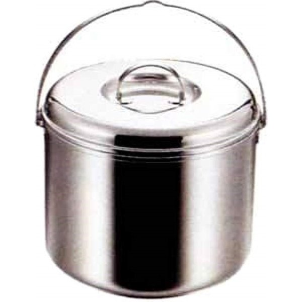 バーベキュー用 鍋 新作製品、世界最高品質人気! 3層鋼つる付寸銅鍋23cm M-8604M-8604 定価 M-8604