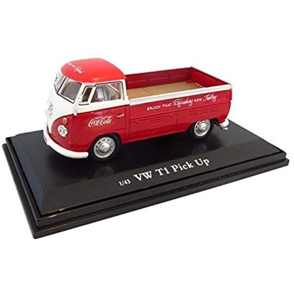 Coca-Cola 絶品 Collectibles 1 43 VW 公式ストア 5518337 レッド ピックアップ 完成品 1962
