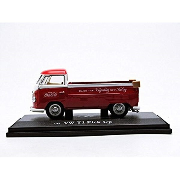 Coca-Cola Collectibles 1/43 VW ピックアップ 1962 レッド 完成品1
