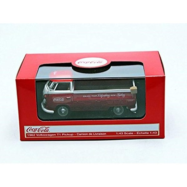 Coca-Cola Collectibles 1/43 VW ピックアップ 1962 レッド 完成品3