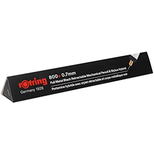 800+ メカニカルペンシル+スタイラス ブラック 0.7mm 19001825
