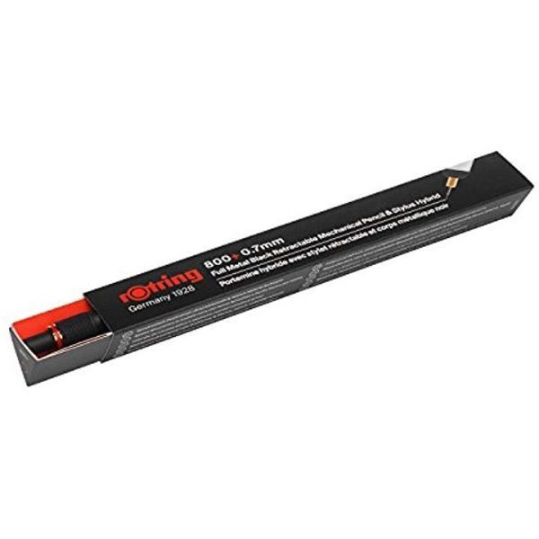 800+ メカニカルペンシル+スタイラス ブラック 0.7mm 19001826