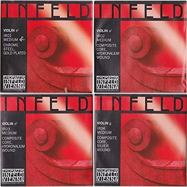 INFELD RED インフェルド・レッド 4/4バイオリン弦セット1