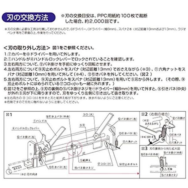 替刃 断裁機PK-513専用 PK-513H 26-1293
