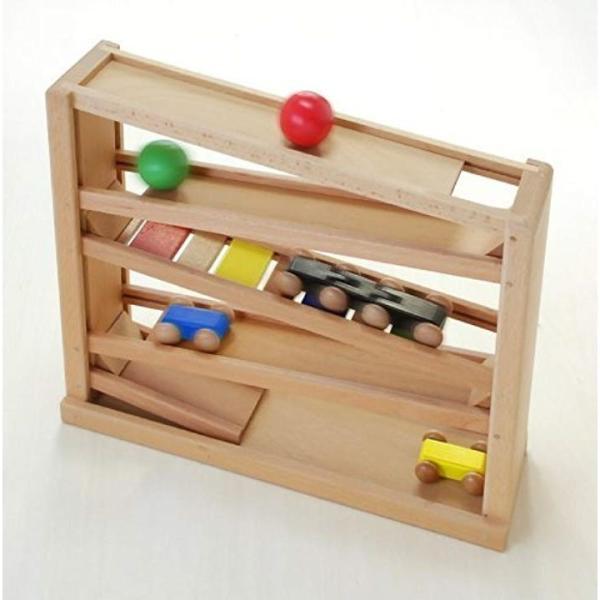 木製おもちゃのだいわ 吊橋ミニコースター2