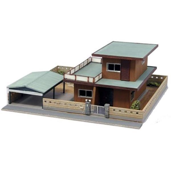 初売り ジオコレ 建物コレクション 014 X213932 現代住宅D ジオラマ用品 セール特価