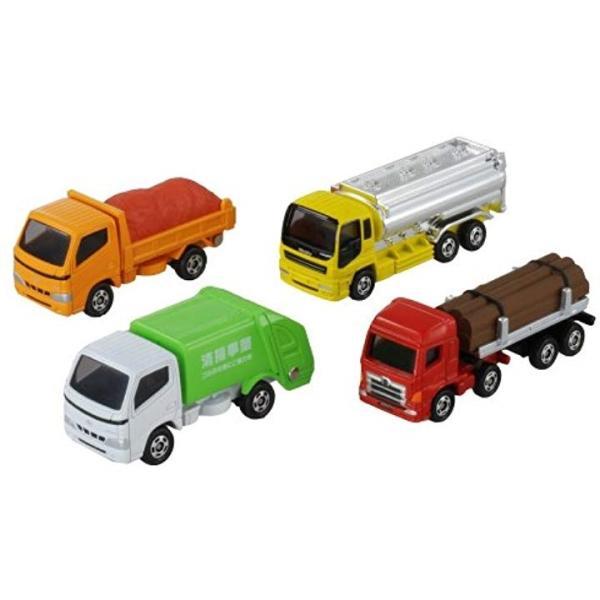 トミカ ギフト 買い取り 運搬トラックセット 4904810785774 特別セール品