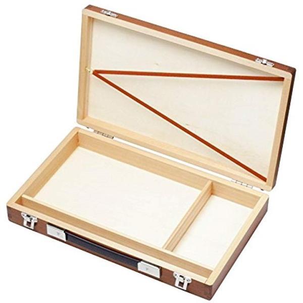水彩画箱 ブラウン1