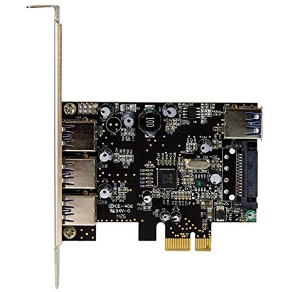 スターテック.com USB 3.0 x4増設PCIeカード 内部ポート x1搭載 PEXUSB3S422
