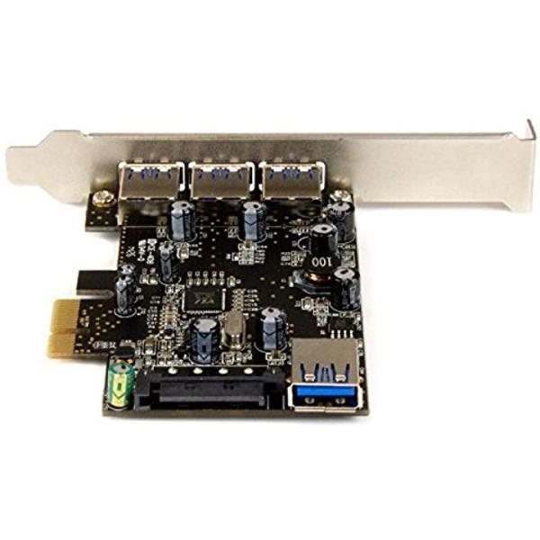 スターテック.com USB 3.0 x4増設PCIeカード 内部ポート x1搭載 PEXUSB3S426