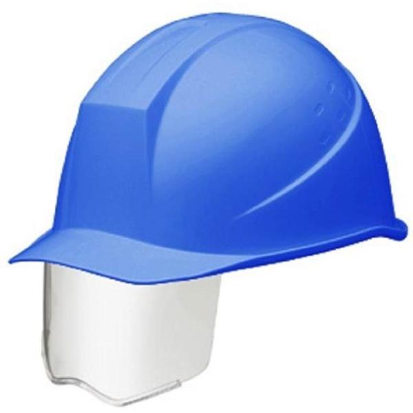 メーカー再生品 スライダー面付 ヘルメット 電気作業用 RA KP付 SC11BS 割引 ブルー
