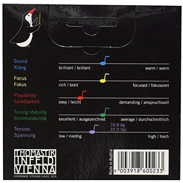 Dominant ドミナント 1/8バイオリン弦セット1