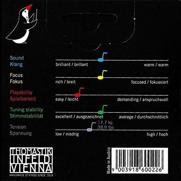 Dominant ドミナント 1/4バイオリン弦セット1