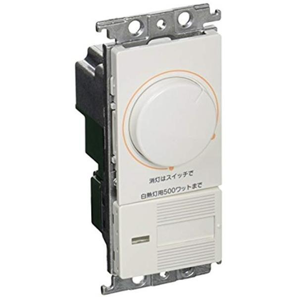 数量限定 コスモシリーズワイド21 期間限定特別価格 埋込調光スイッチC 片切 3路両用 WTC575251W 下限照度設定機能付 ホワイト