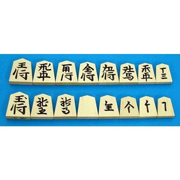 将棋セット 新桂6号折将棋盤と新槙彫り駒のセット2
