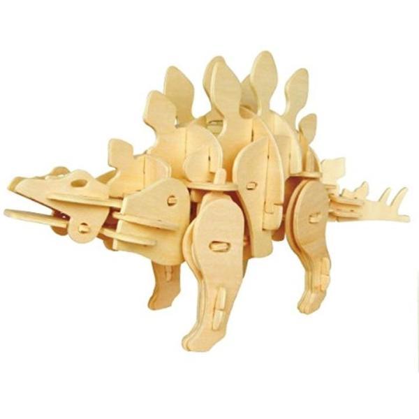 動く木製3Dパズルキット 発売モデル 大特価!! D440ステゴザウルス XXX_B006HC3O4Y
